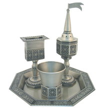 Havdalah Sets Metal & Glass