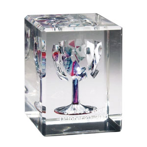 Wedding Glass Keepsakes